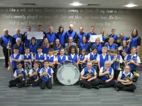 Newland Concert Brass with MD Paul McKelvie MBE